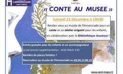 """""""Conte au Musée"""" à l'Annonciade"""