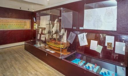 Une nouvelle salle au musée d'histoire maritime de la citadelle