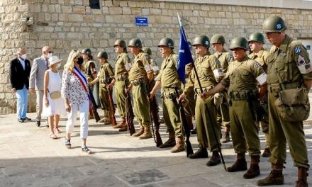 Retour en images sur les commémorations du 77e anniversaire du débarquement en Provence