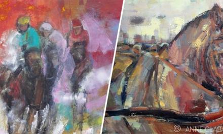 Peintures d'Anne CLABAUX (lavoir Vasserot)