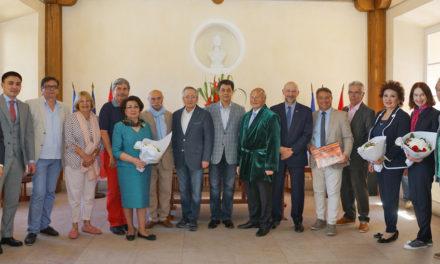 Une délégation kazakhstanaise à Saint-Tropez