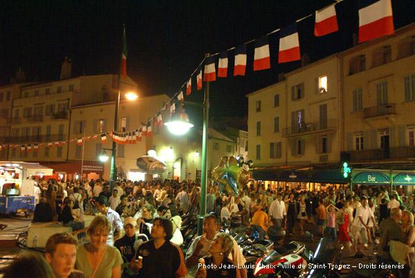 Le 14 juillet à Saint-Tropez