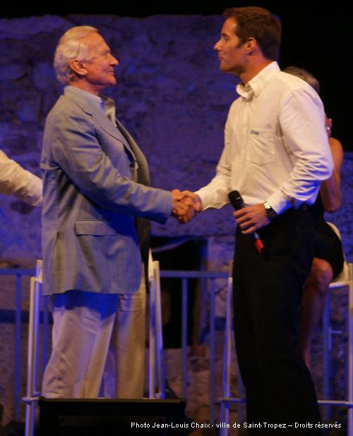 Image 1 - Hommage à Buzz Aldrin, le 29 juillet 2009