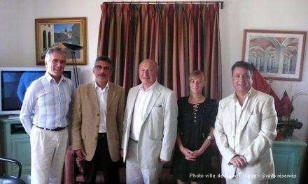 Visite de l'adjoint à la culture de la ville de Cannes