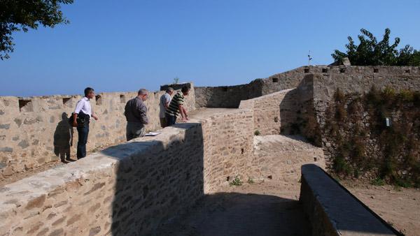Image 1 - Fin de la 1ere session des travaux à la Citadelle