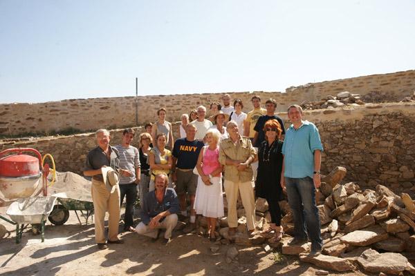 Image 1 - Arrivée du 2e groupe Apare sur le chantier de la citadelle