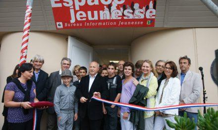 Inauguration de l'Espace jeunesse