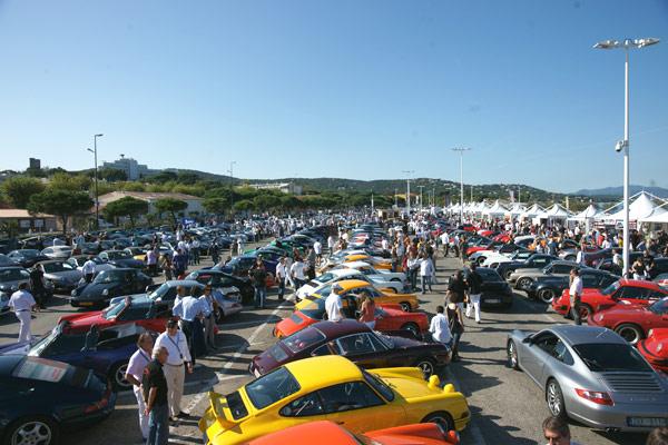 Saint-Tropez, paradis des Porsche