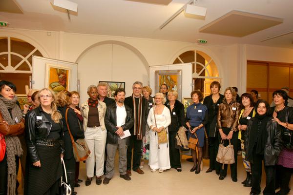 Image 1 - Inauguration du 16e salon d'art et d'essai