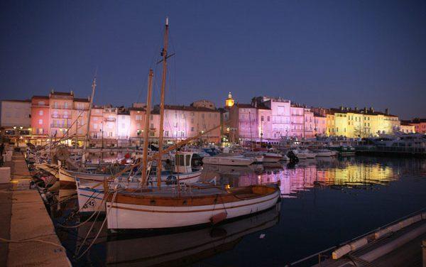 Noël 2009 à Saint-Tropez : le coup d'envoi illuminé !