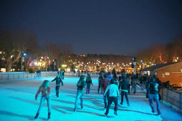 Image 1 - Noël à Saint-Tropez : la patinoire