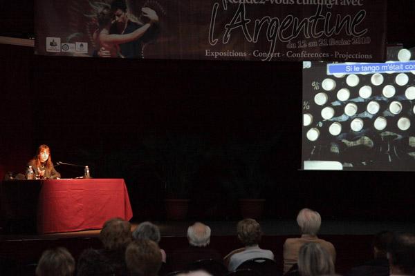 Image 1 - Rendez-vous culturel avec l'Argentine : conférence de Solange Bazely