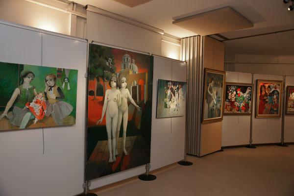 Image 1 - Exposition Vieceli : l'art contemporain à la salle Jean-Despas