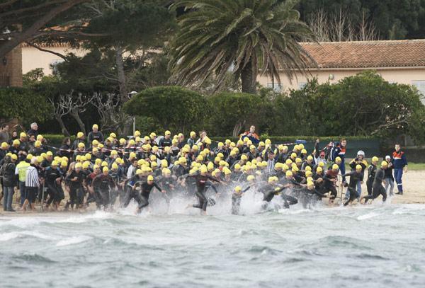 Image 1 - Triathlon : ils ont bravé le mistral