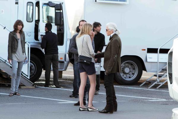 Image 1 - Chanel : Karl Lagerfeld tourne à Saint-Tropez