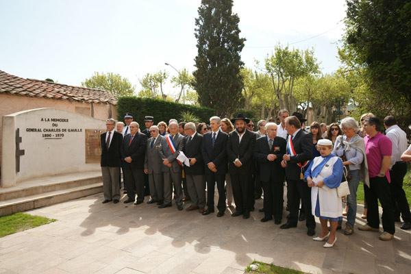Image 1 - Le 25 avril, hommage aux victimes et aux héros de la déportation