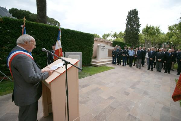 Image 1 - Commémoration du 8 mai 1945 : Jean-Pierre Tuveri en appelle à l'unité européenne