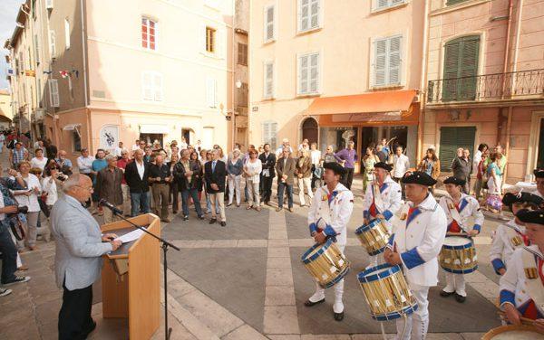 Inaugurations marché aux poissons, vieille ville et 1 rue de la Ponche