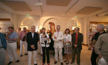 À la salle Jean-Despas, le salon des Peintres et sculpteurs de Saint-Tropez