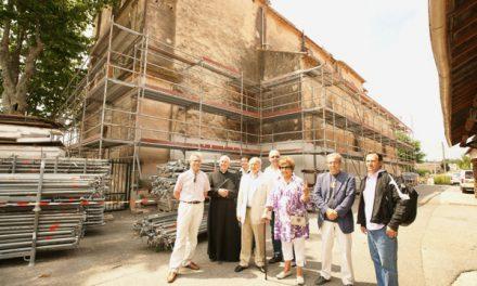 La chapelle du Couvent en rénovation