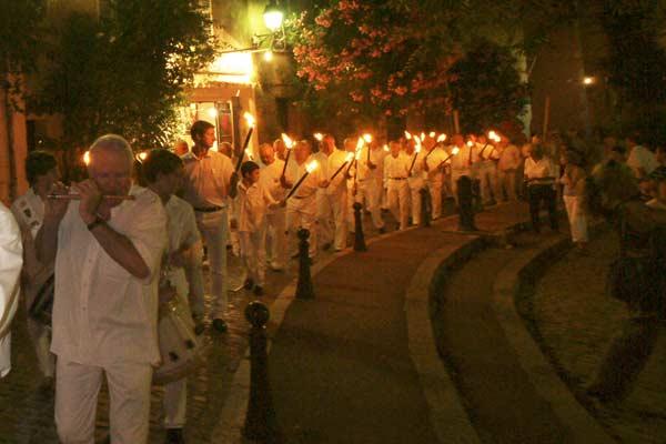 Saint-Tropez fête le patron des pêcheurs