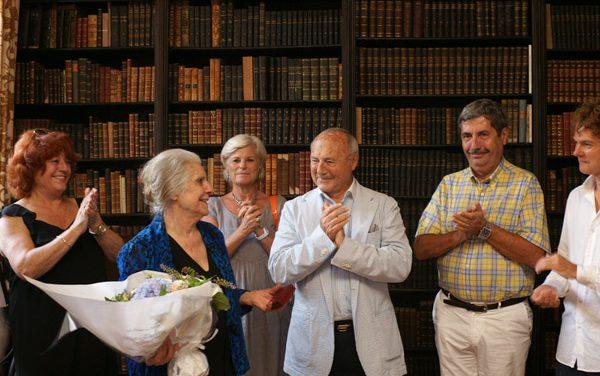 Nuits du Château de la Moutte : Madeleine Malraux honorée par le maire