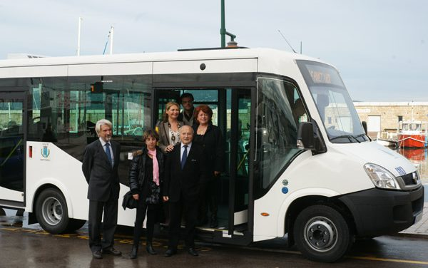 Un nouveau bus pour le transport municipal