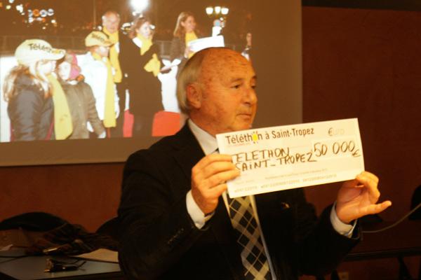 Image 1 - 50 000 euros : record battu pour le Téléthon !