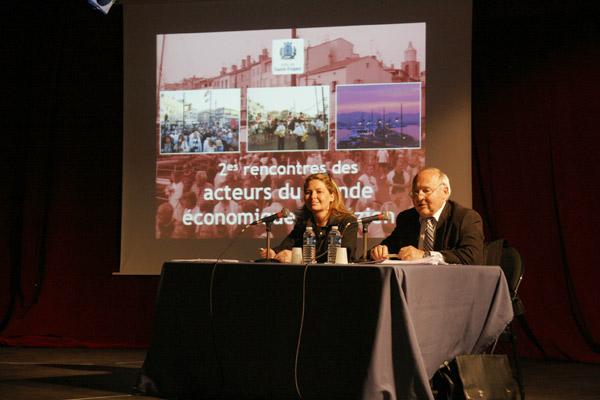Image 1 - Avant-saison : la municipalité a rencontré les acteurs économiques