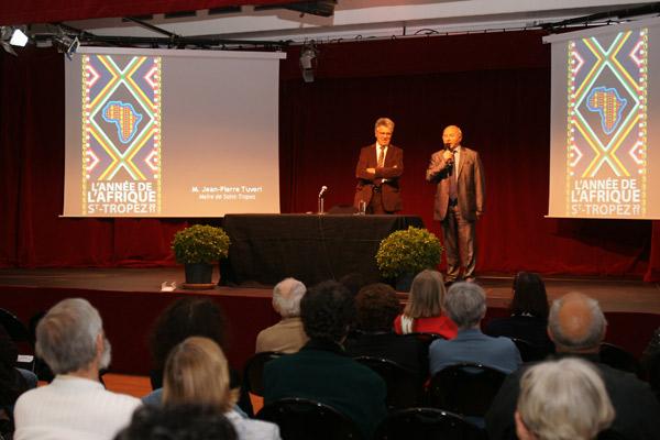 Année de l'Afrique à Saint-Tropez : une conférence pour commencer