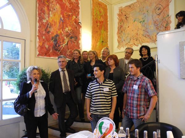Image 1 - Douze pays représentés au 15e Salon international des artistes contemporains