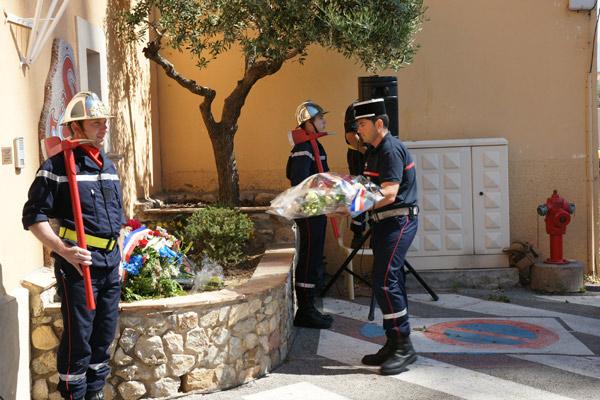Image 1 - Sapeurs-pompiers : en mémoire de Daniel Isnard