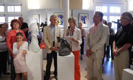 Les 10 ans du salon des Peintres et des sculpteurs
