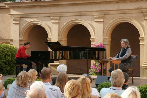 Image 1 - Liszt en musique et en littérature au château de la Moutte