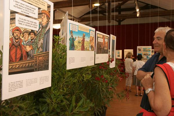 L'histoire de Saint-Tropez en bande dessinée