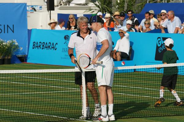 Image 1 - Classic tennis tour : Mc Enroe prend sa revanche sur Borg