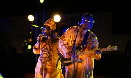 La soirée de l'Afrique brave le mistral
