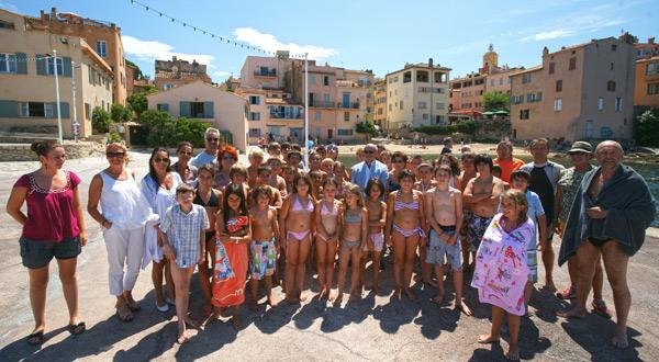 Image 1 - Challenge Fourquet : les enfants du CLJ dans les vagues