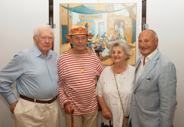 Inauguration de l'exposition consacrée à Dany Lartigue