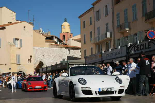 La «Boxster», vedette du 18e Paradis Porsche