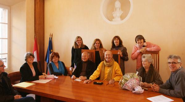 Dany Lartigue fait don de ses collections à la commune