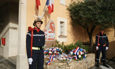 Sainte-Barbe : la municipalité aux côtés des sapeurs-pompiers