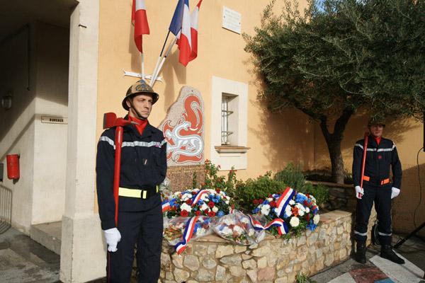 Image 1 - Sainte-Barbe : la municipalité aux côtés des sapeurs-pompiers