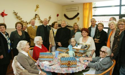 Le père Noël est passé chez les aînés