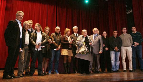 17 médaillés aux vœux 2012 du personnel communal