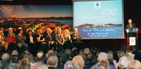 Image 1 - Vœux du maire à la population : « 2012 devrait être une année très riche en réalisations »