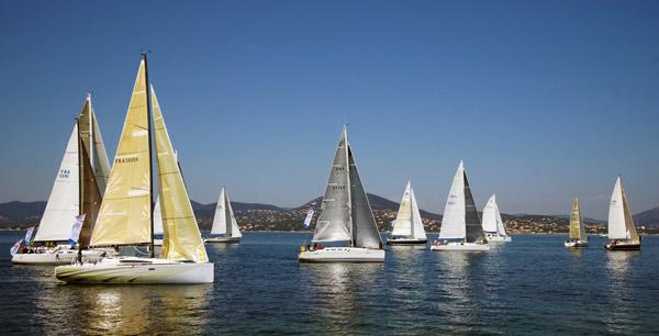 Les 900 nautiques en course vers les Baléares