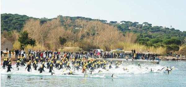 triathlon saint tropez