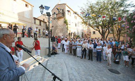 Inauguration des rues rénovées de la vieille ville