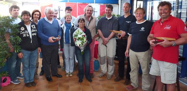 La remise des prix en présence de l'adjoint Frank Boumendil (é gauche).